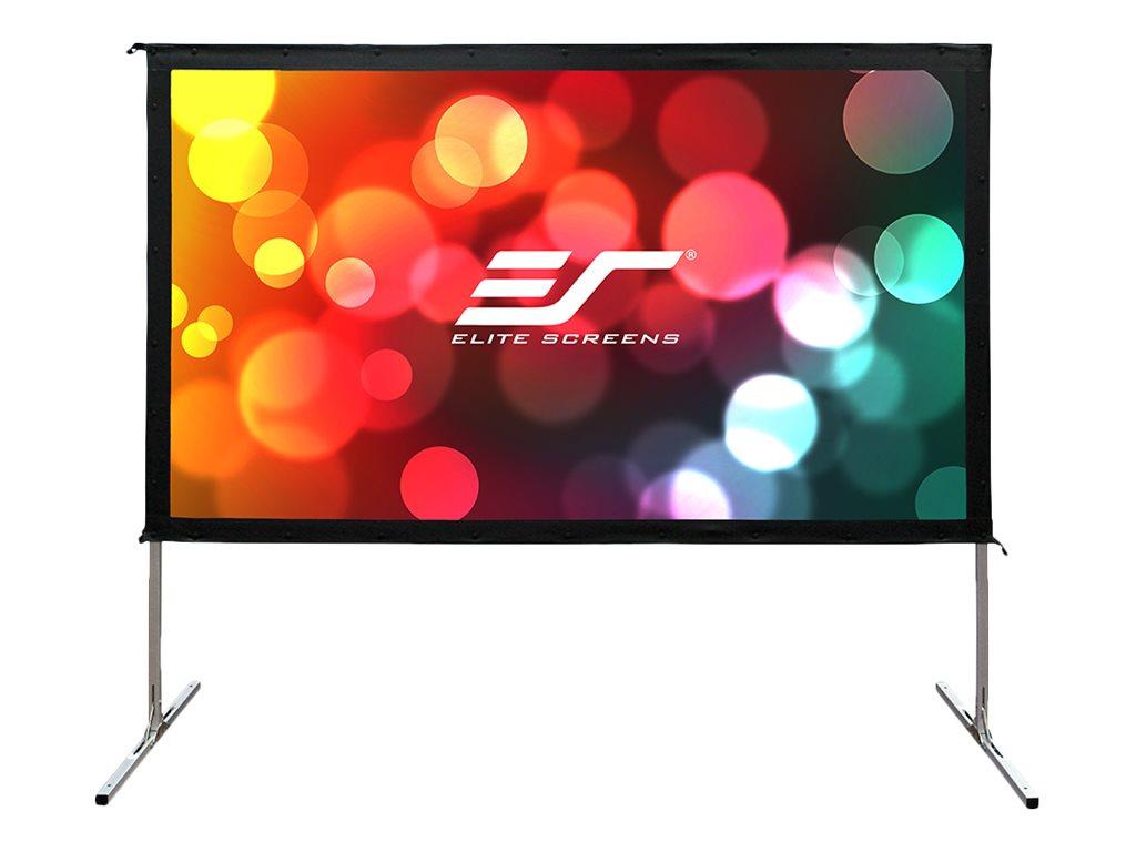 Elite Screens Yard Master 2 Series OMS150H2-DUAL - Projektionsschirm mit Beinen - 381 cm (150 Zoll)