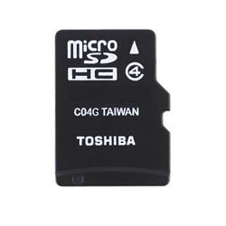 Toshiba High Speed M102 - Flash-Speicherkarte (microSDHC/SD-Adapter inbegriffen) - 16 GB