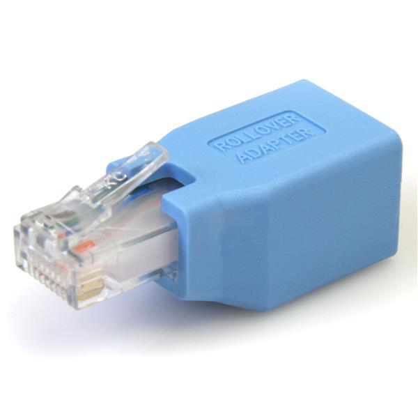 StarTech.com Cisco Konsolen Rollover Adapter für RJ45 Ethernet Kabel - St/Bu
