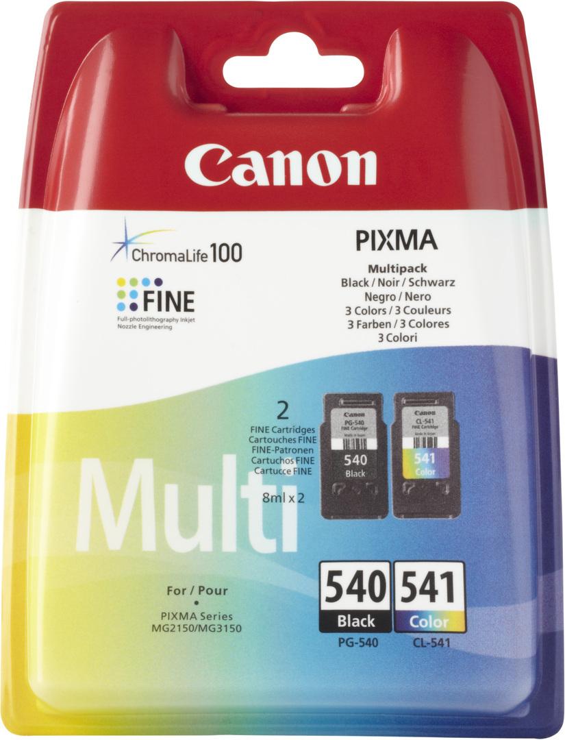 Canon PG-540 / CL-541 Schwarz - Gelb Tintenpatrone