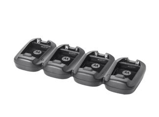 Zebra 4-Slot - Batterieladegerät - für Zebra MC2100