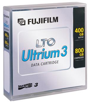 Fujitsu Fuji - 5 x LTO Ultrium 3 - 400 GB / 800 GB - etikettiert