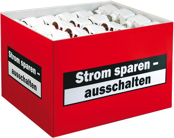 Vorschau: Brennenstuhl 1508070001 - Weiß - IP20 - 100 mm - 100 mm - 60 mm - 80 g