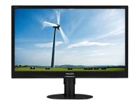 Brilliance LCD-Monitor mit LED-Hintergrundbeleuchtung 231S4QCB/00 - 58,4 cm (23 Zoll) - 1920 x 1080 Pixel - Full HD - LED - 14 ms - Schwarz