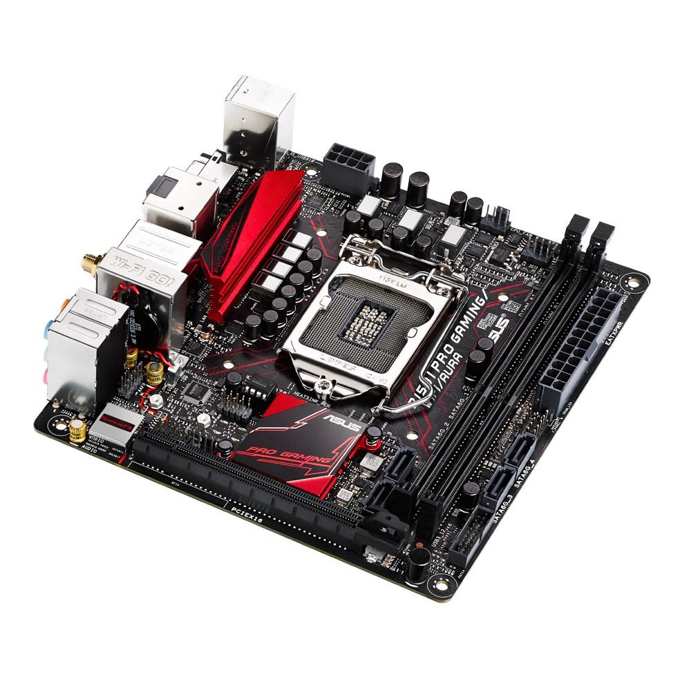 ASUS B150I PRO GAMING/WIFI/AURA - Mainboard - Mini-ITX