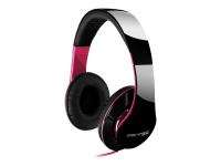 SHP-250AJ Mobiles Headset Binaural Kopfband Schwarz - Pink