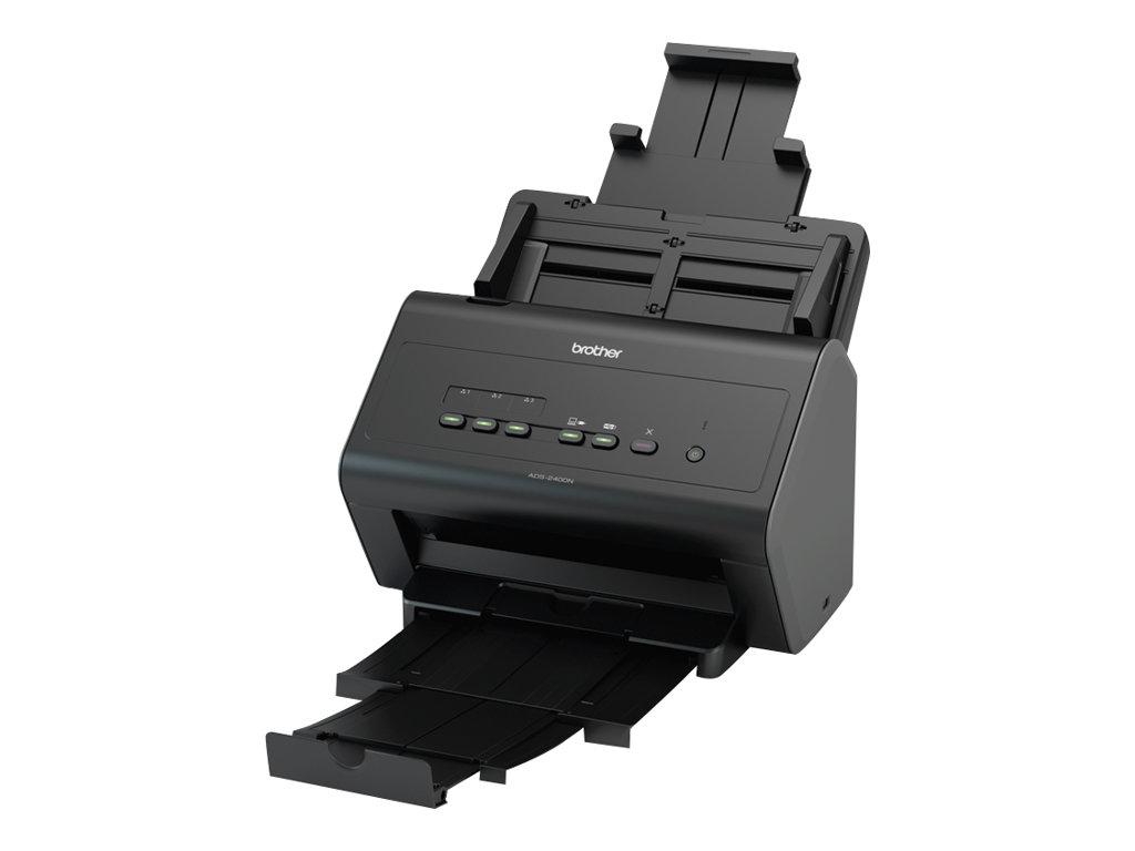Brother ADS-2400N - Dokumentenscanner - Dual CIS - Duplex - A4 - 600 dpi x 600 dpi - bis zu 40 Seiten/Min. (einfarbig)