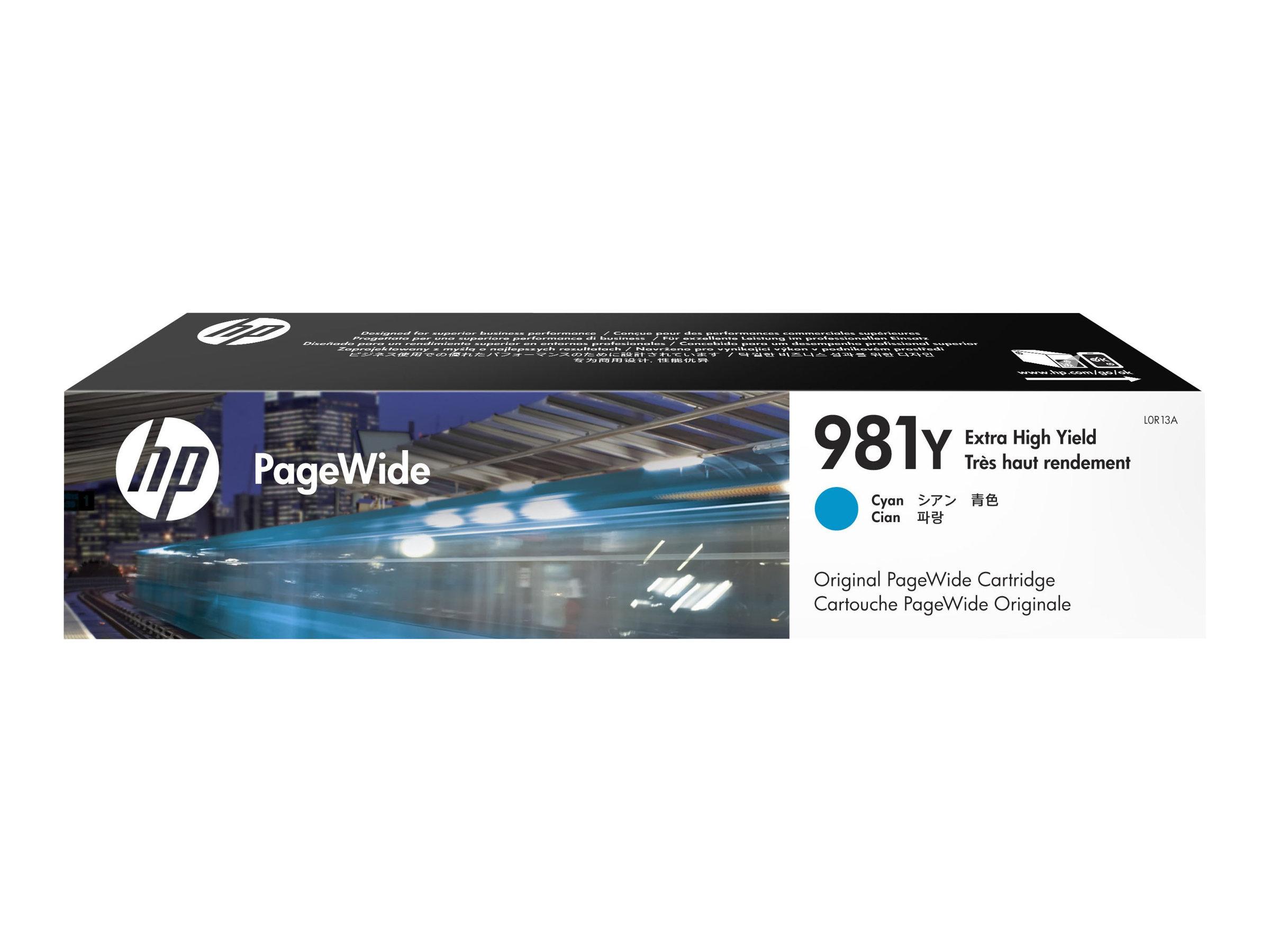 HP Tinte cyan Nr. 981Y (L0R13A) ca. 16.000 Seiten