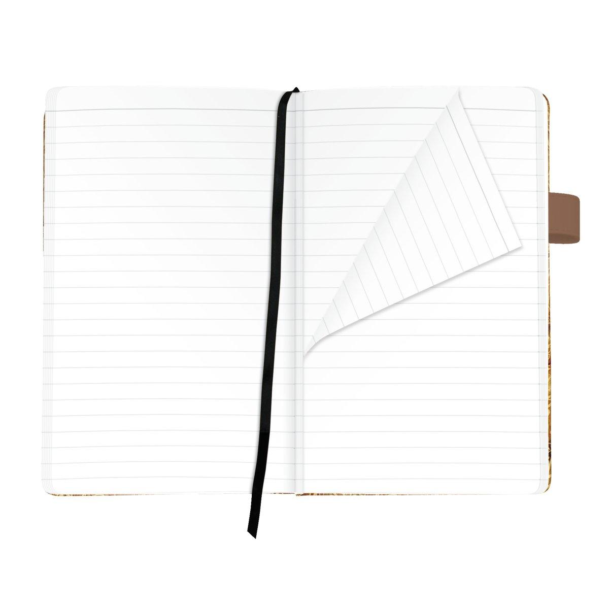 Herlitz 11369360 - Muster - Mehrfarbig - Weiß - A5 - 96 Blätter - 80 g/m² - Liniertes Papier