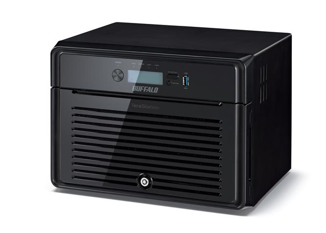 Buffalo TeraStation 5800DWR 24TB NAS Eingebauter Ethernet-Anschluss Schwarz