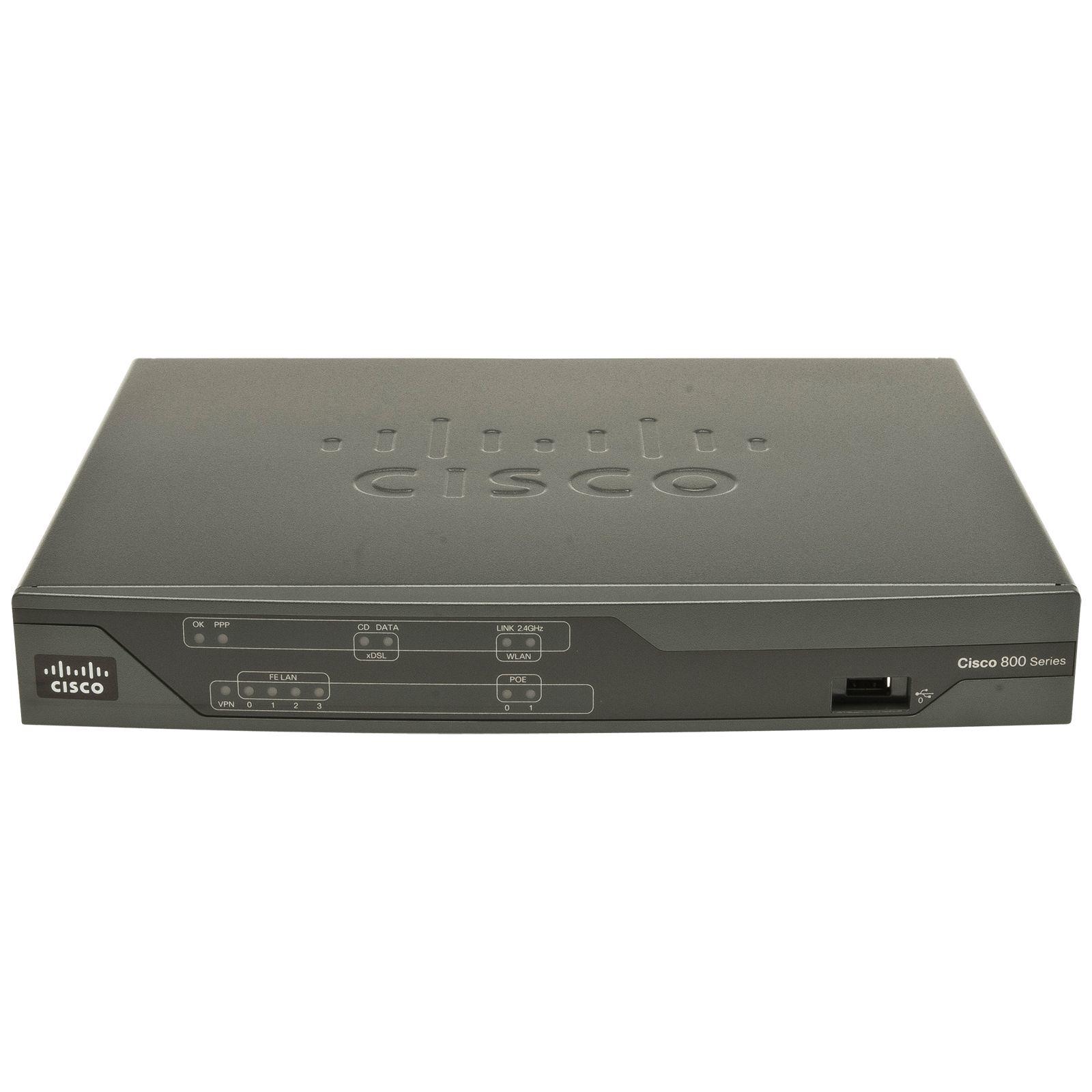 Cisco 886 VDSL/ADSL over ISDN Multi-mode Router (C886VA-K9)