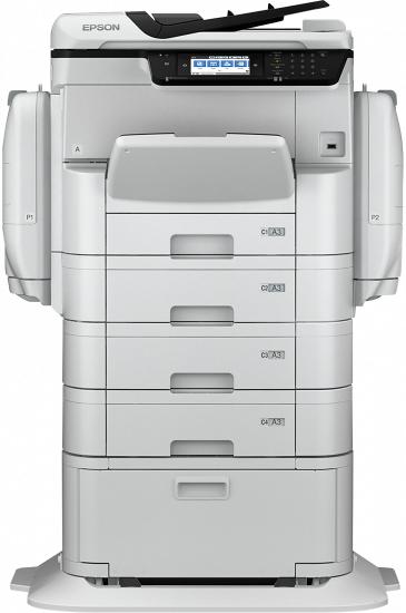Epson WorkForce Pro WF-C869RD3TWFC 4800 x 1200DPI Tintenstrahl A3+ 35Seiten pro Minute WLAN Weiß Multifunktionsgerät