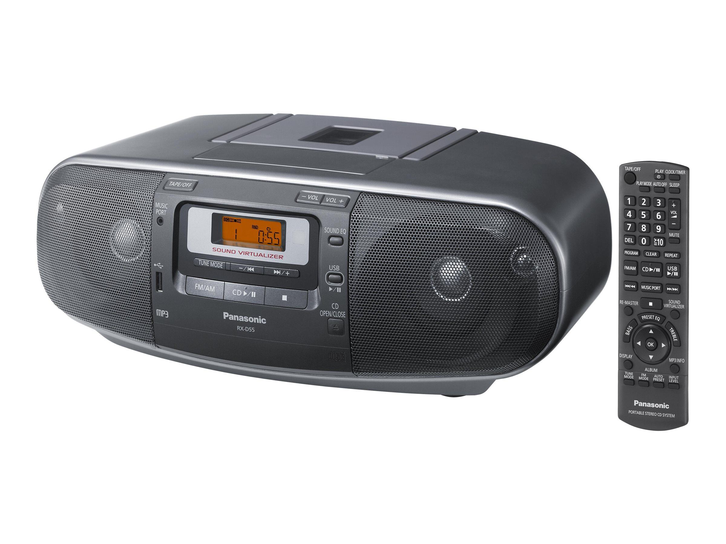 Panasonic RX-D55 - Ghettoblaster