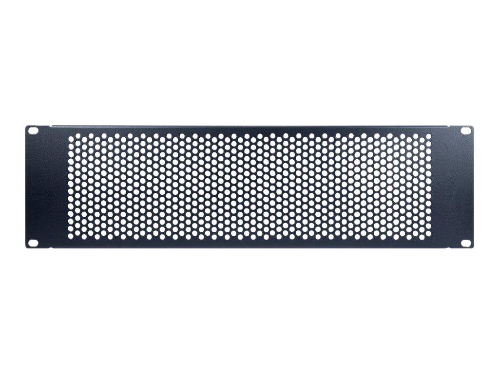 "Inter-Tech PINHOLE APERTURE - Blindplatte - RAL 9005 - 3U - 48.3 cm (19"")"