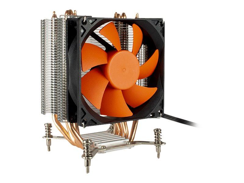 Inter-Tech Argus SU-200B - Prozessor-Luftkühler - (für: LGA1156, LGA1366, LGA1155, LGA1150, LGA1151, LGA1200)