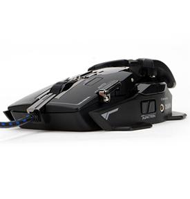 Zalman ZM-GM4 USB Laser 8200DPI Schwarz Maus