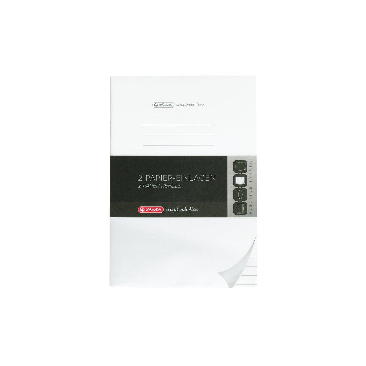 Herlitz 50034093 - Ersatzeinlagen - für Notizheft my.book flex - DIN A4