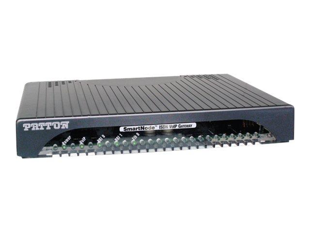 Patton SmartNode 4120 - VoIP-Gateway - ISDN, 100Mb LAN
