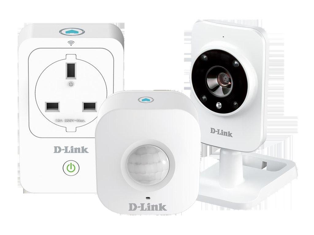 D-Link mydlink Smart Home HD Starter Kit - System für Heimautomatisierung und -sicherheit