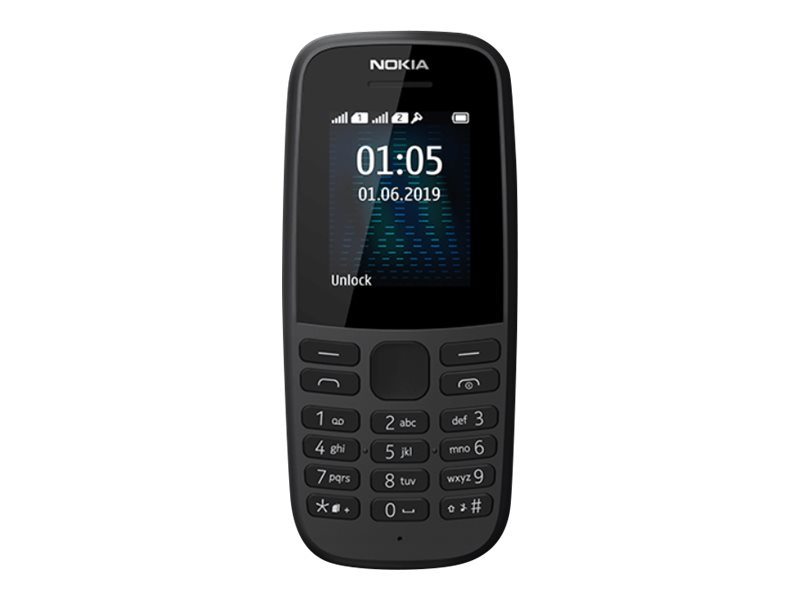 Nokia 105 - Mobiltelefon - Dual-SIM - GSM - RAM 4 MB
