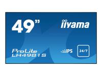 "ProLite LH4981S-B1 - 125cm/49"" Klasse ( 123.2cm/48.5"" sichtbar ) LED-Display - Digital Signage"