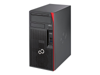 ESPRIMO P557/E85+ 3,7 GHz Intel® Core i3 der sechsten Generation i3-6100 Schwarz - Rot Desktop PC