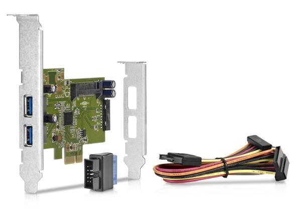 Dual Port USB 3,0 Interface
