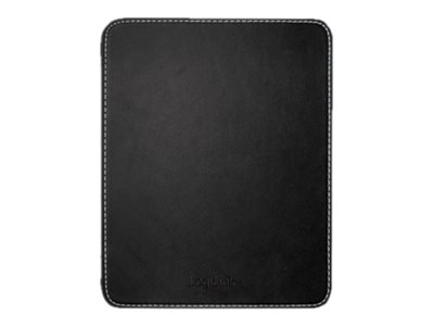 LogiLink Mouse Pad Leather - Mauspad - Schwarz