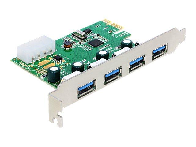 Delock PCI Express Card   4 x external USB 3.0