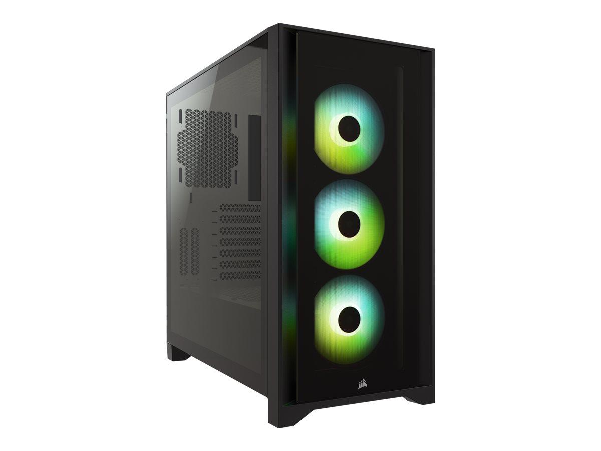 Corsair iCUE 4000X RGB - Tower - ATX - ohne Netzteil (ATX)