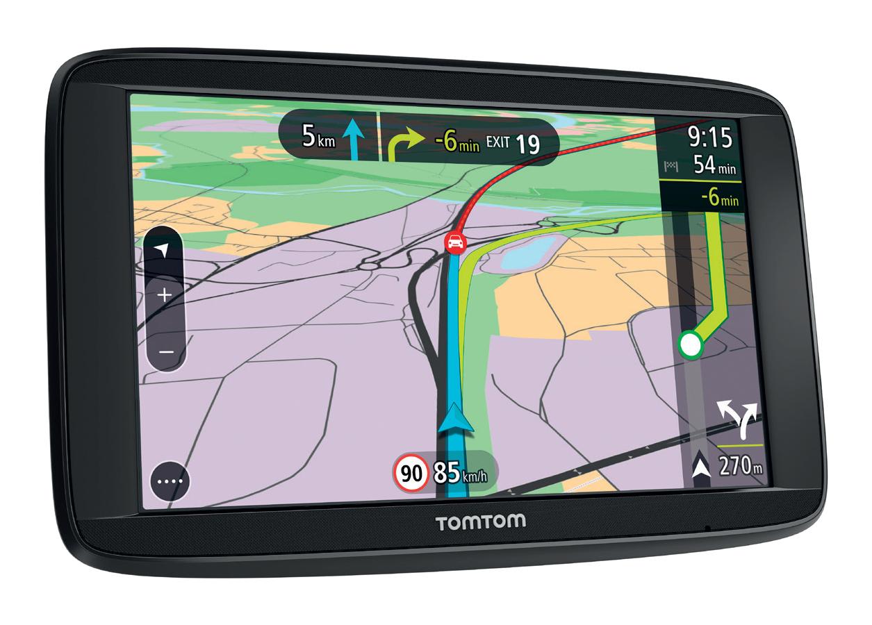 TomTom VIA 52 - GPS-Navigationsgerät - 13 cm ( 5 Zoll )