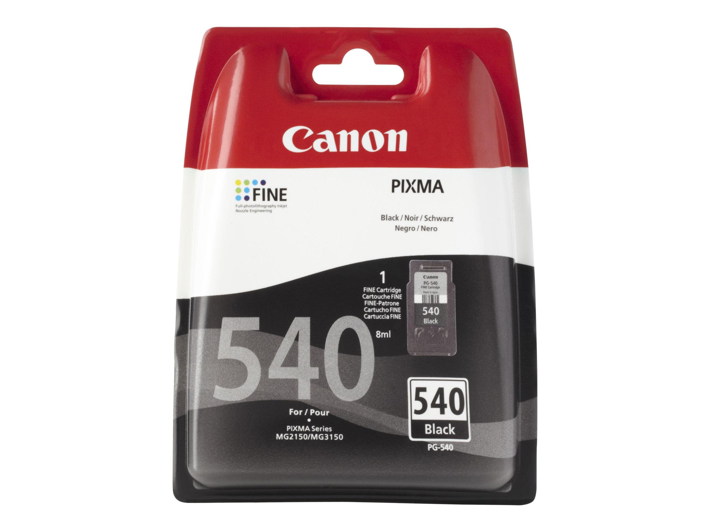 Canon PG-540 - 8 ml - Schwarz - Original - Tintenpatrone