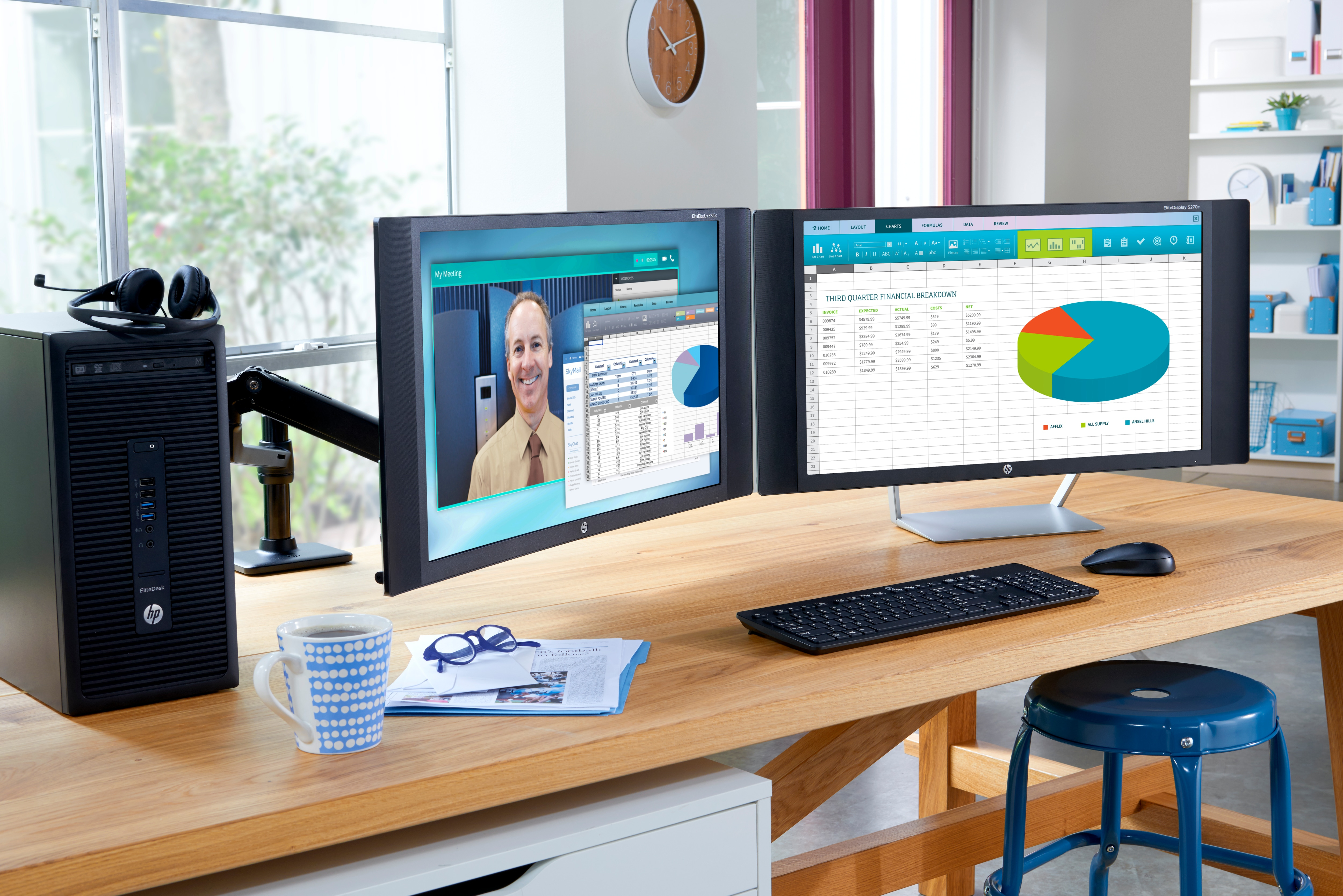 HP Single Monitor Arm (BT861AA)