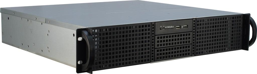 Inter-Tech 2U-20240 - Rack - Server - Stahl - Schwarz - ATX,Micro ATX,Mini-ATX - Festplatte - Netzwerk - Leistung