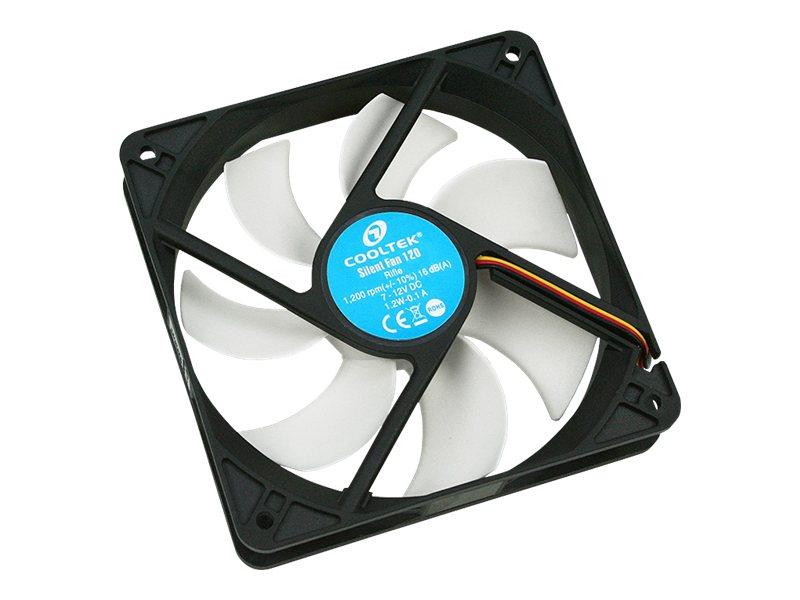 PC-Cooling Cooltek Silent Fan Series - Gehäuselüfter - 120