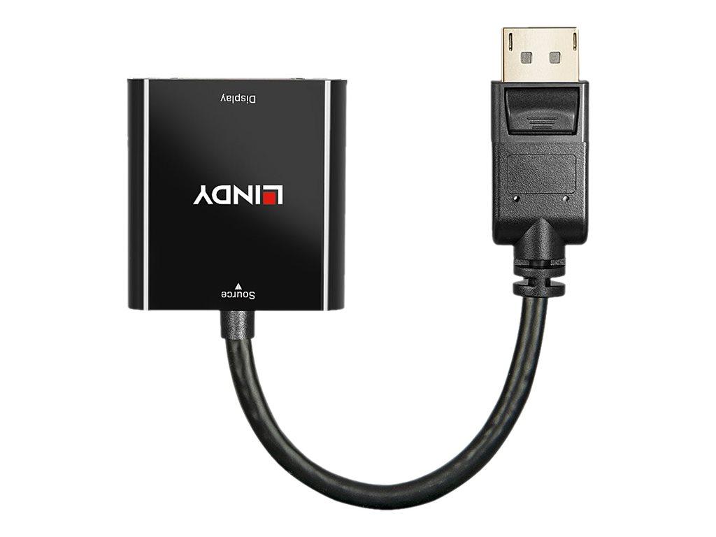 Vorschau: Lindy Display-Adapter - DisplayPort (M) bis DVI-I (W)