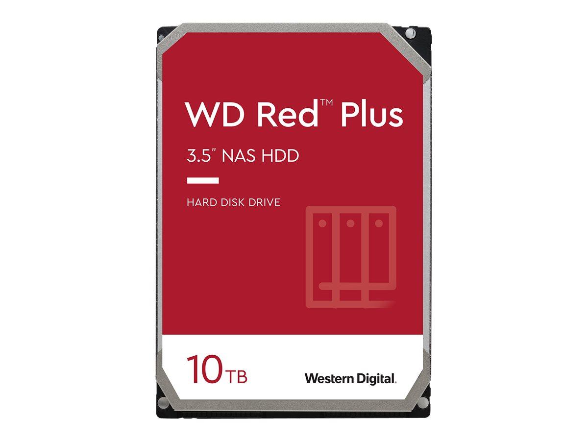 "WD Red Plus NAS Hard Drive WD101EFAX - Festplatte - 10 TB - intern - 3.5"" (8.9 cm)"