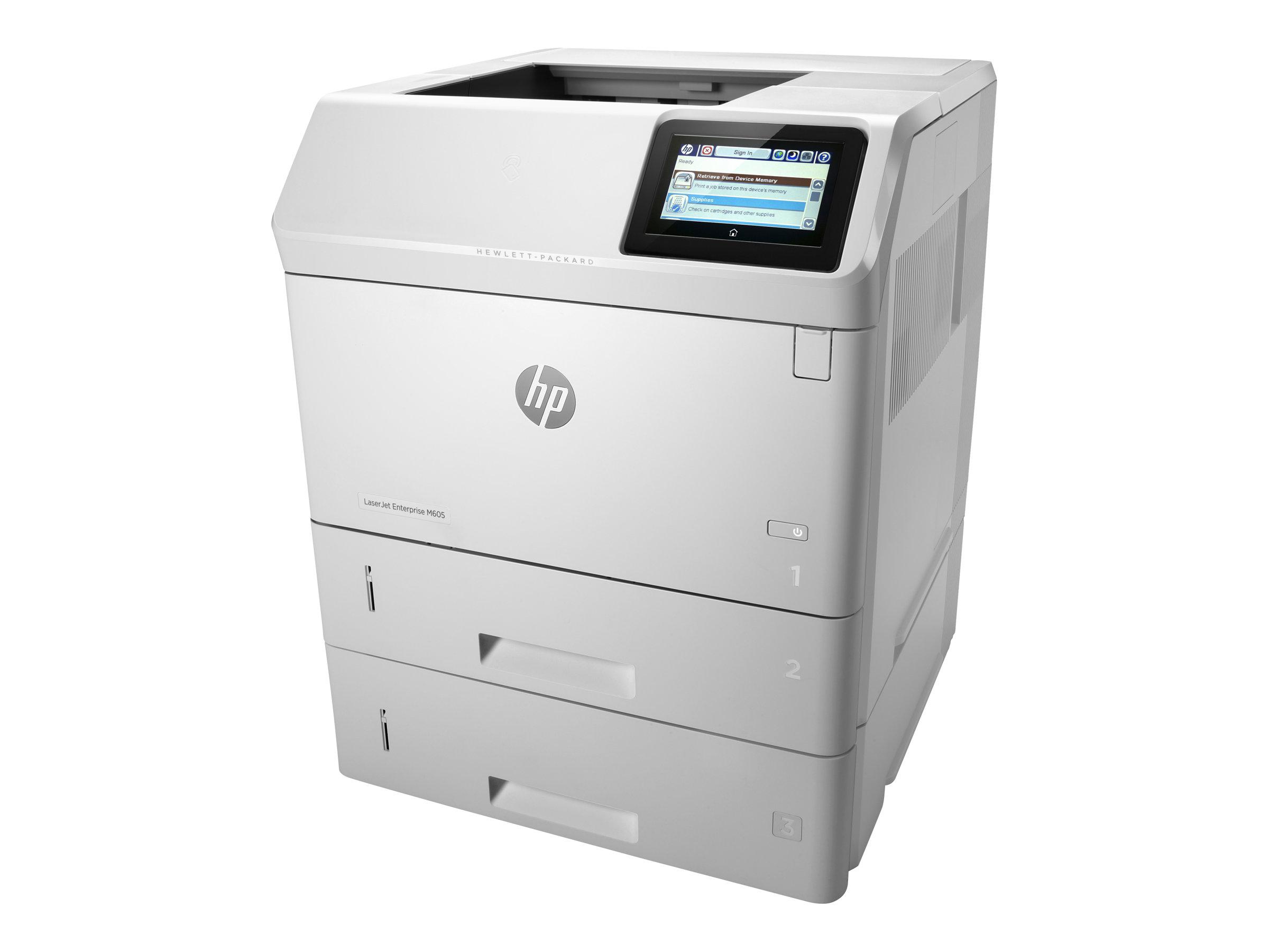 Vorschau: HP LaserJet Enterprise M605x - Drucker