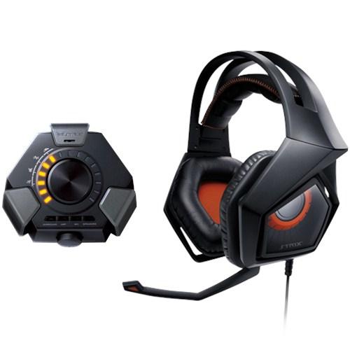 ASUS Strix DSP Binaural Kopfband Schwarz Headset