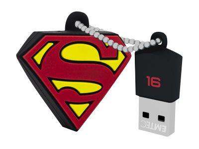 EMTEC DC Comics Collector Superman - USB-Flash-Laufwerk