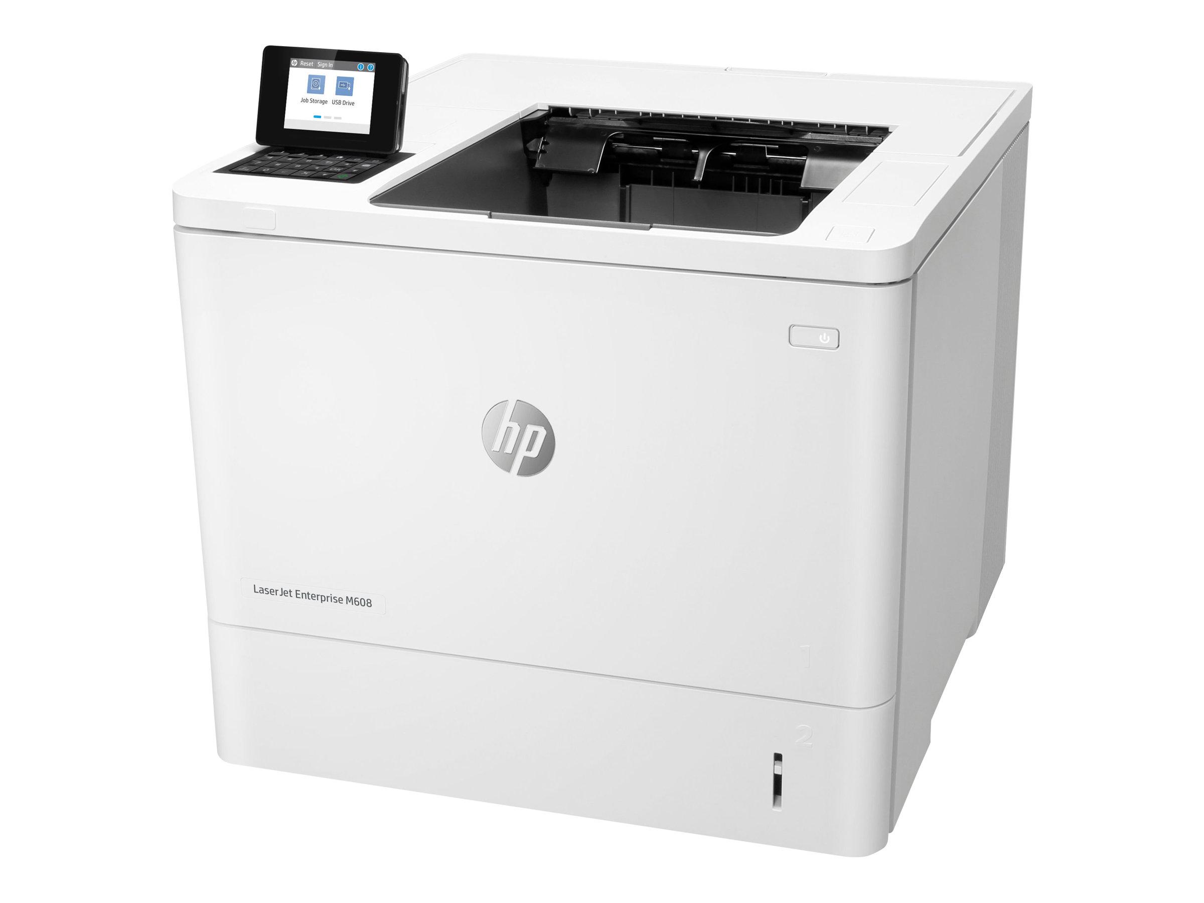 HP LaserJet Enterprise M608dn - Drucker - monochrom
