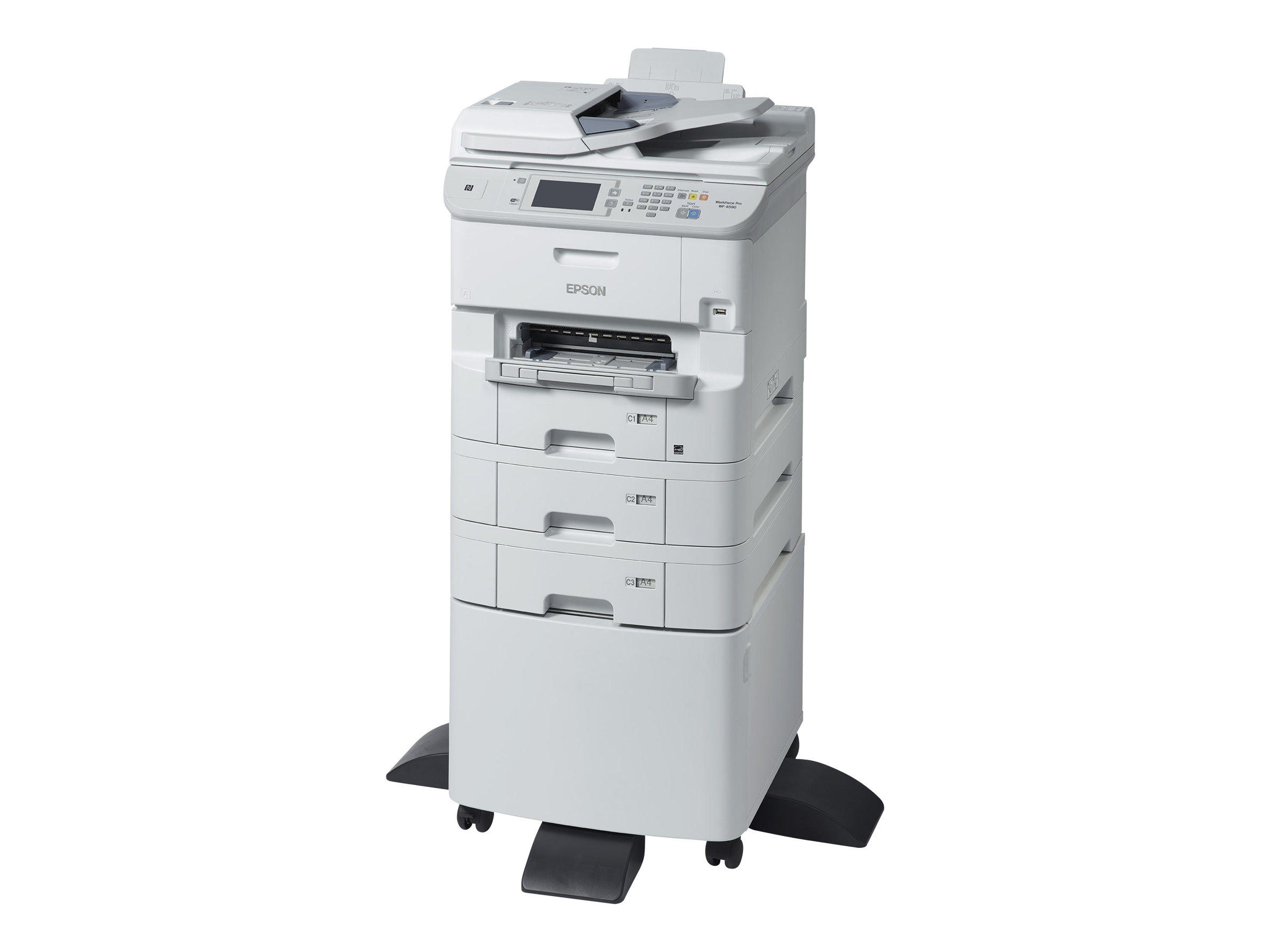 Epson WorkForce Pro WF-6590D2TWFC - Multifunktionsdrucker - Farbe - Tintenstrahl - Legal (216 x 356 mm)