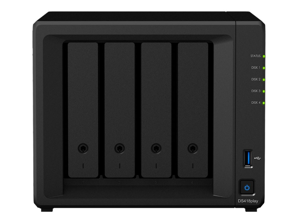 Synology Disk Station DS418Play - NAS-Server