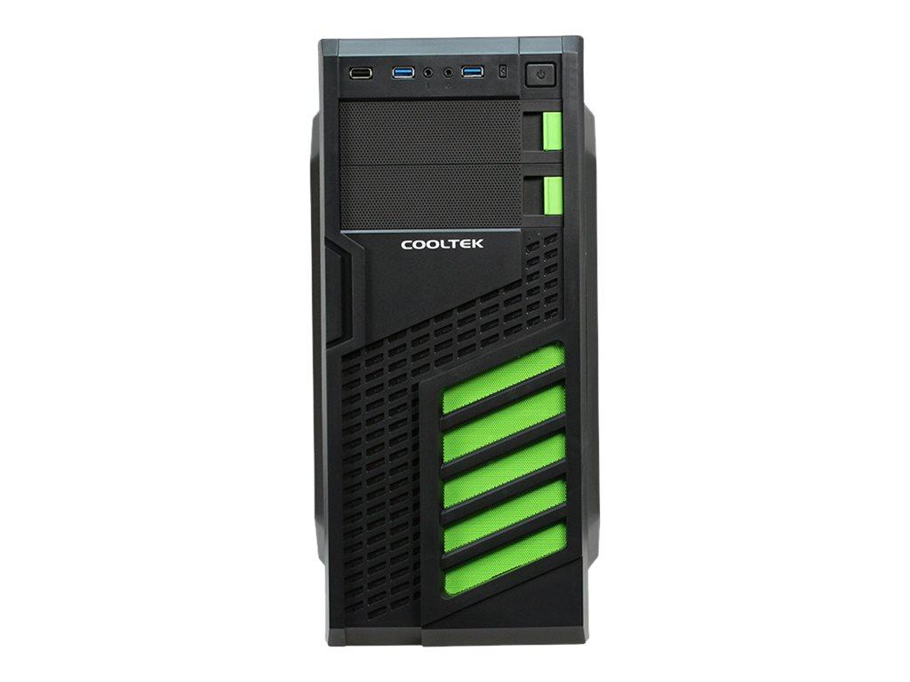 PC-Cooling Cooltek KX - Tower - ATX - ohne Netzteil (ATX)