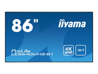 LE8640UHS-B1 - 2,17 m (85.6 Zoll) - LED - 3840 x 2160 Pixel - 410 cd/m² - 4K Ultra HD - 16:9