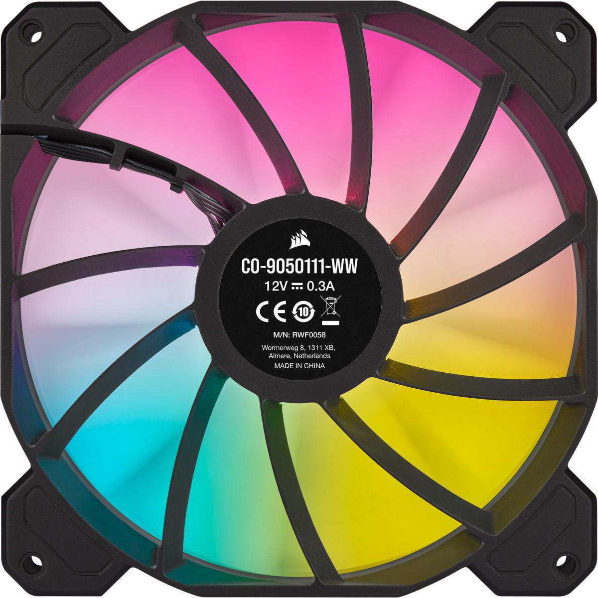 Corsair iCUE SP140 RGB ELITE - System Schrank-Gebläseset
