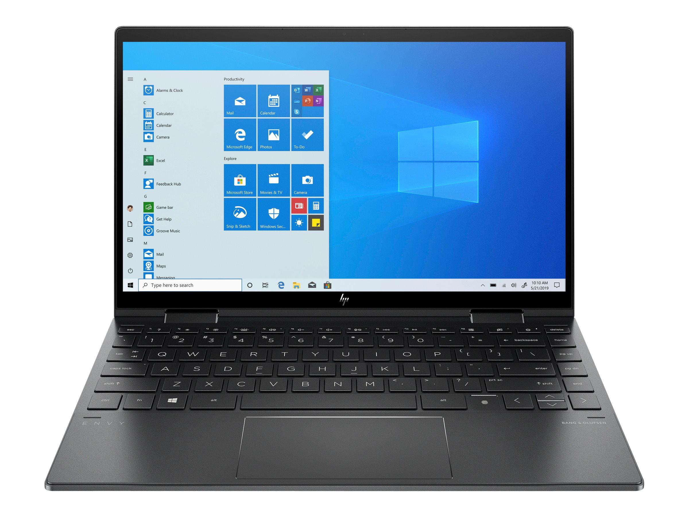 HP ENVY x360 13-ay0472ng - Flip-Design - Ryzen 7 4700U / 2 GHz - Win 10 Home 64-Bit - 8 GB RAM - 256 GB SSD NVMe - 33.8