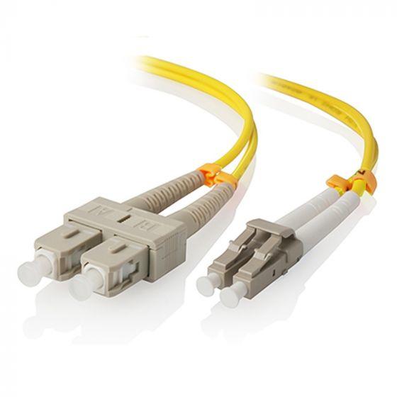 Alogic LCSC-05-OS2 - 5 m - LSZH - OS2 - LC - SC - Gelb