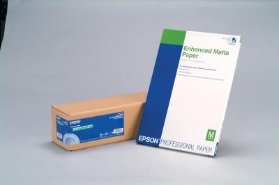 Epson Enhanced Matte - Papier, matt - Rolle A1 (61,0 cm x 30,5 m)