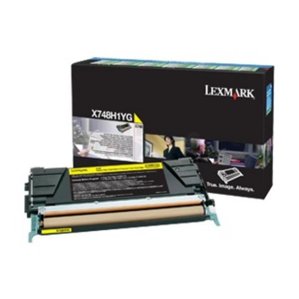 Lexmark X748H3YG Laser cartridge 10000Seiten Gelb Lasertoner / Patrone